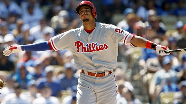 Phillies Bruised and Humbled by Dodgers Before Date With Defending Champion Cubs