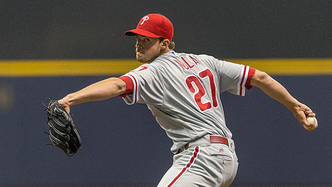 Aaron Nola Sharp at Triple A Lehigh Valley in Possible Final Rehab Start