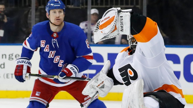 Alex Lyon Saves Flyers' Day at MSG