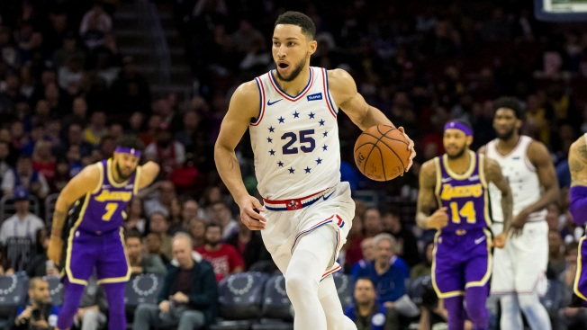 Sixers React to Ben Simmons' Taking First Legitimate Three-point Attempt