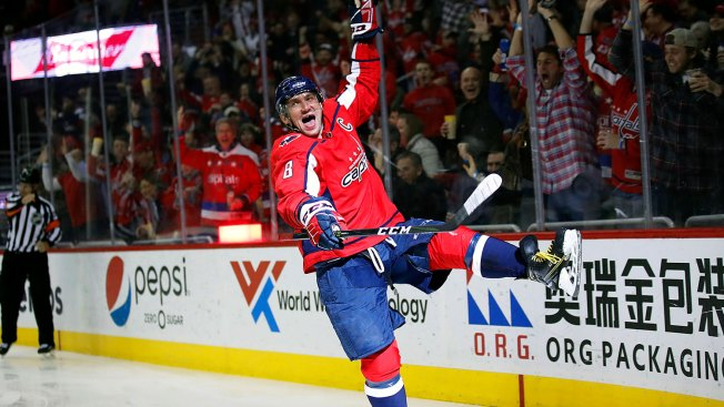 Ovechkin Scores a Seat in an Exclusive Club