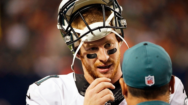 Carson Wentz's Deep Passes During Training Camp Could Be Sign of Things to Come