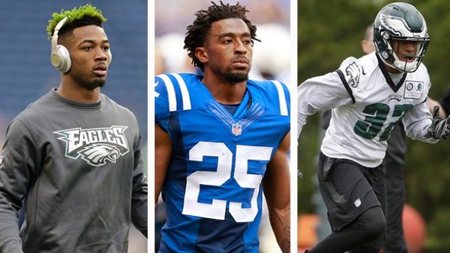 Eagles CBs Jalen Mills, Patrick Robinson, Rasul Douglas Front-runners to Face NFL's Top Receivers
