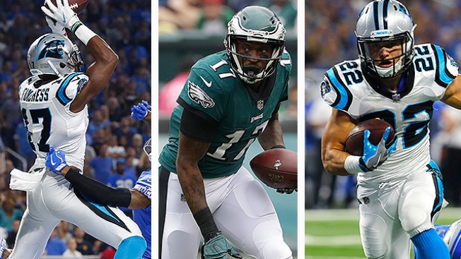 Best and Worst Fantasy Football Plays for Eagles-Panthers