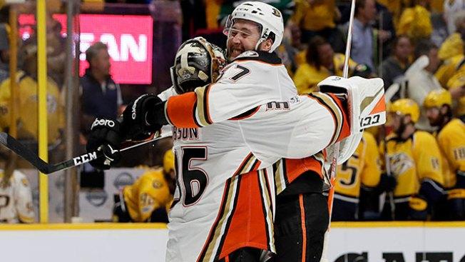 NHL Playoffs: Ducks Regroup From Blown Lead to Beat Predators in OT