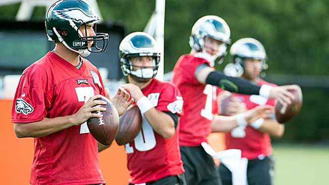 National Football League preseason roundup: Eagles outscore Dolphins 38-31