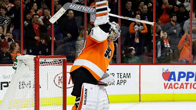 Flyers Use a Sick Day in Return From All-Star Break