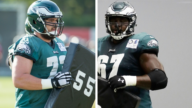 347d888a15f Changing of the Guard  Eagles Have a New Starter on the Offensive Line
