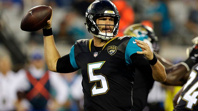 Jaguars select Blake Bortles starting QB heading into season