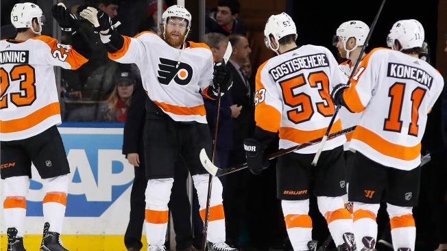 Monday's Trade Deadline No Sweat for Flyers