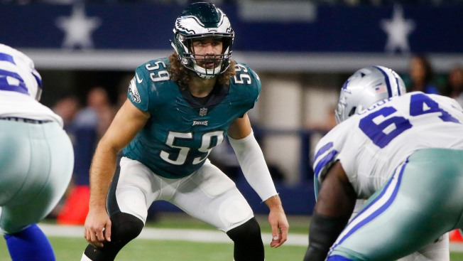 Eagles Lose Joe Walker, Add Asantay Brown to Their Practice Squad