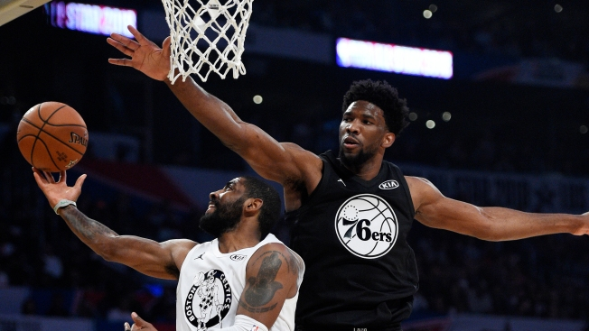 Joel Embiid Renews Rivalry, Takes Notes in 1st All-Star Game