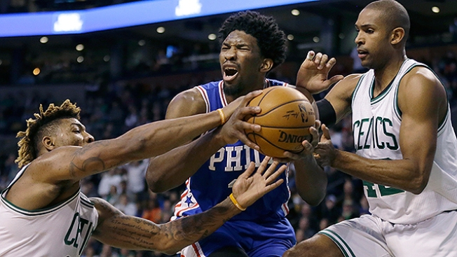 f90051b93a3 Sixers Hurt by 2 Blown Calls in 4-point Loss to Celtics
