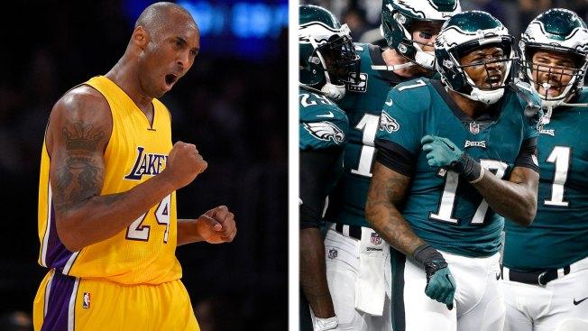 306bc1d91a2 Eagles Learn About Kobe Bryant s  Mamba Mentality  - NBC 10 Philadelphia