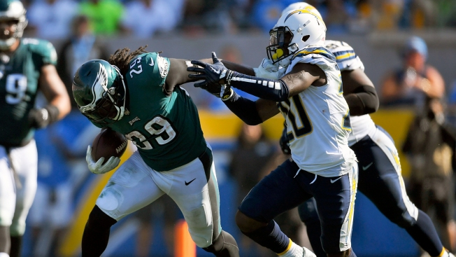 LeGarrette Blount Runs 'like a Man Possessed' in Eagles' Win Over Chargers