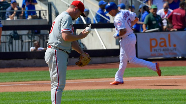 Notes From The Phillies' 9-1 Win Over New York