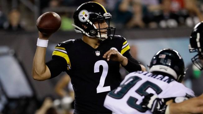 Deflategate 2.0: Steelers' Mason Rudolph Accused of Using Deflated Football in Preseason Game Vs. Eagles
