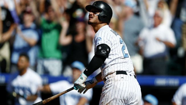 Best of MLB: Nolan Arenado Completes Cycle With Walk-off Home Run as Rockies Stun Giants