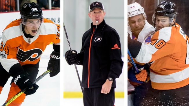 10 Observations From Flyers' 1st Week of Training Camp