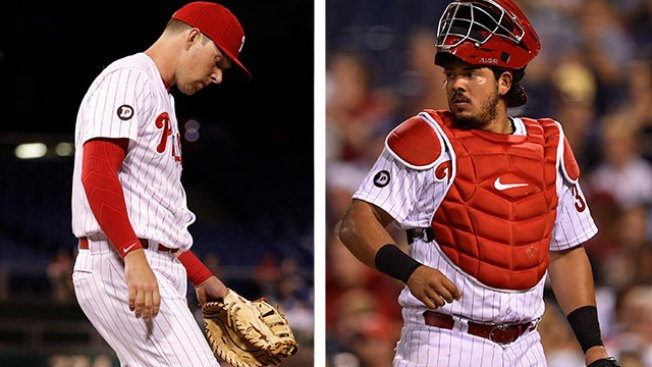 Phillies to Play Rhys Hoskins More at First Base, Jorge Alfaro at Catcher