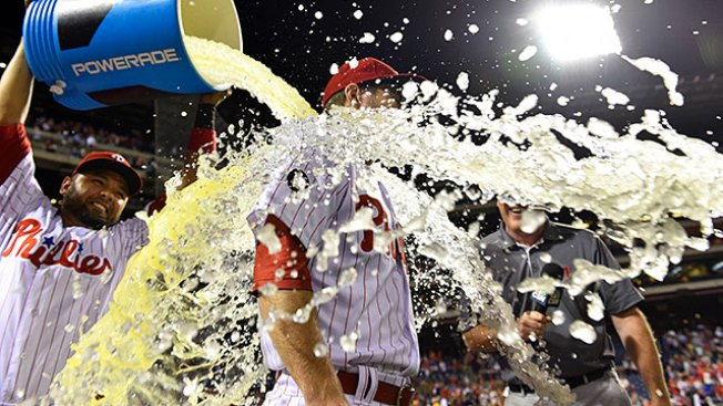 Everything Goes Right for Phillies as They Beat One of Baseball's Best Pitchers