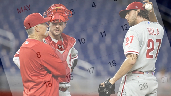Phillies Ready to Turn the Calendar After Finishing Historically Bad May 6-22