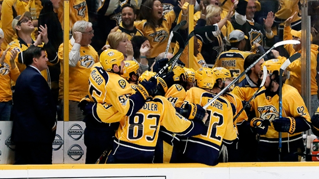 NHL Playoffs: Predators Oust Blues to Reach 1st Western Conference Final in Team History
