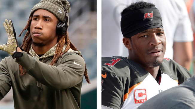 Eagles' Ronald Darby defends Jameis Winston: 'Nothing inappropriate in nature happened'