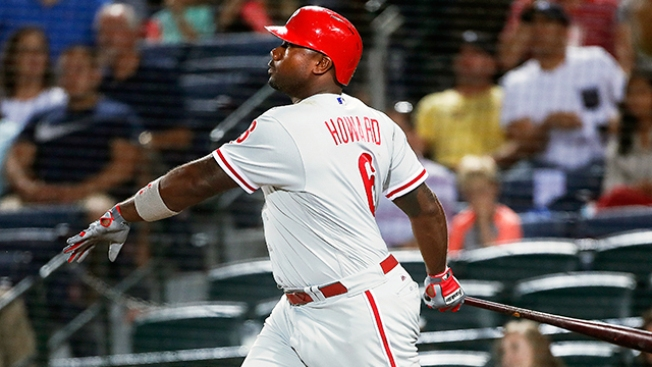 Slugger Ryan Howard gets minor league deal with Braves
