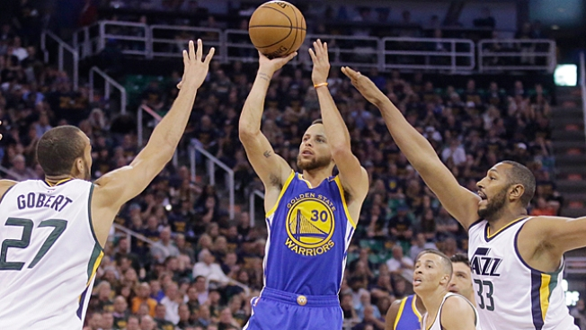 NBA Playoffs: Warriors Sweep Jazz to Reach Western Conference Finals