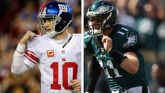 Giants vs. Eagles: Highlights, game tracker and more
