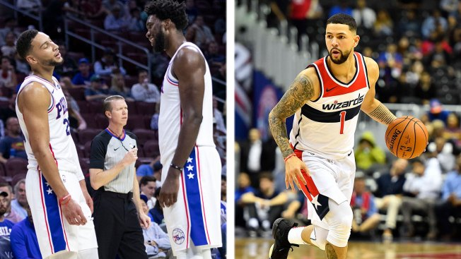Wizards' Austin Rivers Doesn't Know Why 'everybody's So F---ing Gassed Up' on Sixers, Celtics