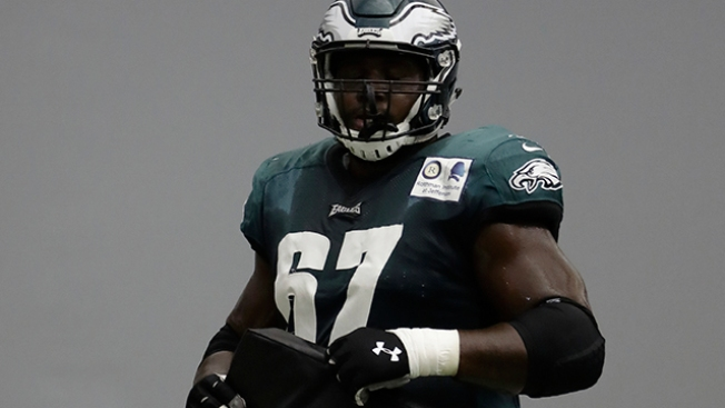 There's a 'Chance' a Change Could Be Coming for Eagles at Left Guard