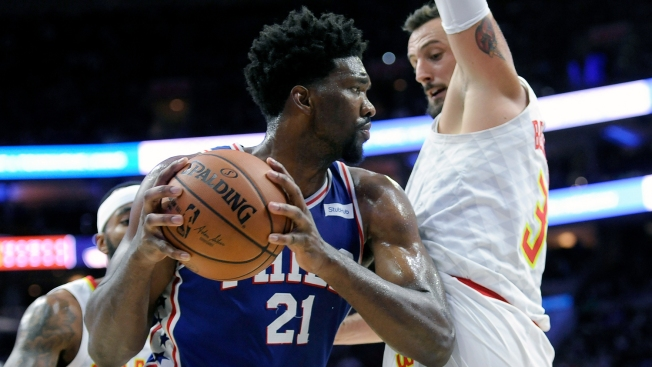 Mike Muscala Wasn't Very Fond of Joel Embiid as an Opponent