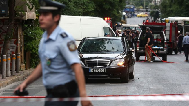 Letter Bomb Wounds Greek Ex-Prime Minister in Athens