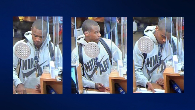Police Search for Wells Fargo Bank Robber