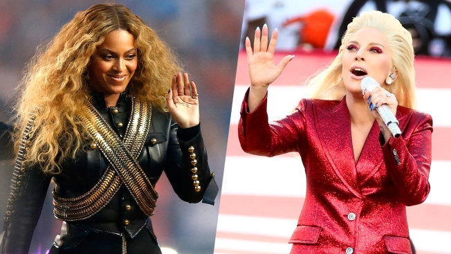 Beyonce, Lady Gaga Compete With QBs For Most-Searched During Super Bowl