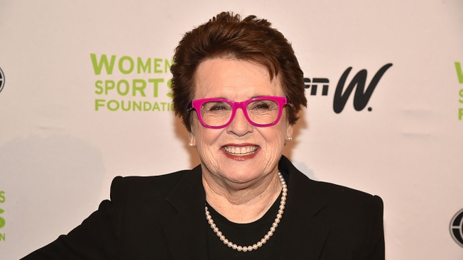 Billie Jean King Celebrates 45th Anniversary of Title IX