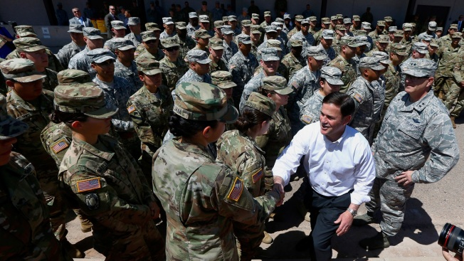 Gradual Deployment of US Troops to Mexico Border Underway