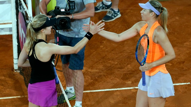 Bouchard Eliminates Sharapova in Grudge Match at Madrid Open