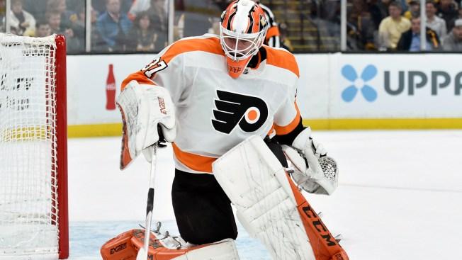 Brian Elliott Returns as Flyers Send Alex Lyon Back to Phantoms