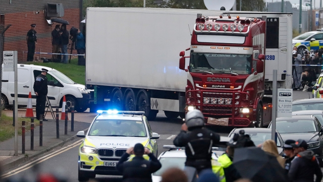 UK Police Say Truck Victims From Vietnam; 3 Suspects Held