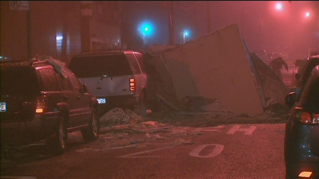 Partial Building Collapse in Philly