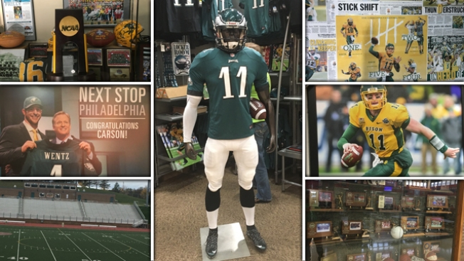 Carson Wentz Has Eagles Fever Permeating His North Dakota Roots