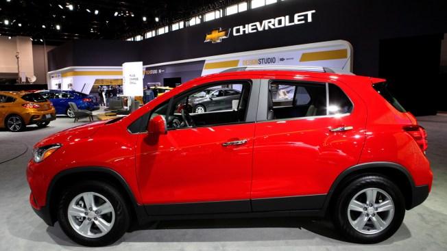 Chevy Small Suv >> Gm Recalls Chevrolet Small Suvs Suspension Welds Can Break