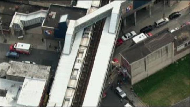 Man Trapped Under SEPTA Train