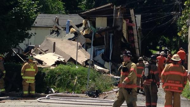 House Explosion in Coatesville