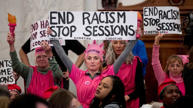 Activist Faces Jail Time for Laughing During Jeff Sessions' Confirmation Hearing