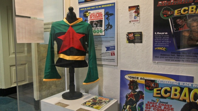 Black Comic Book Art Showcased at City Hall