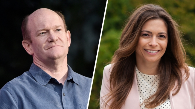 U.S. Sen. Chris Coons Has a Challenger in Next Year's Delaware Primary